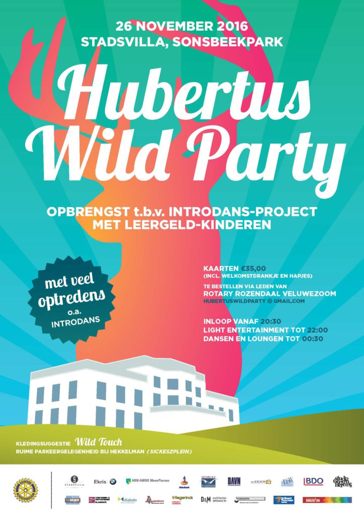 Hubertus-wild-party