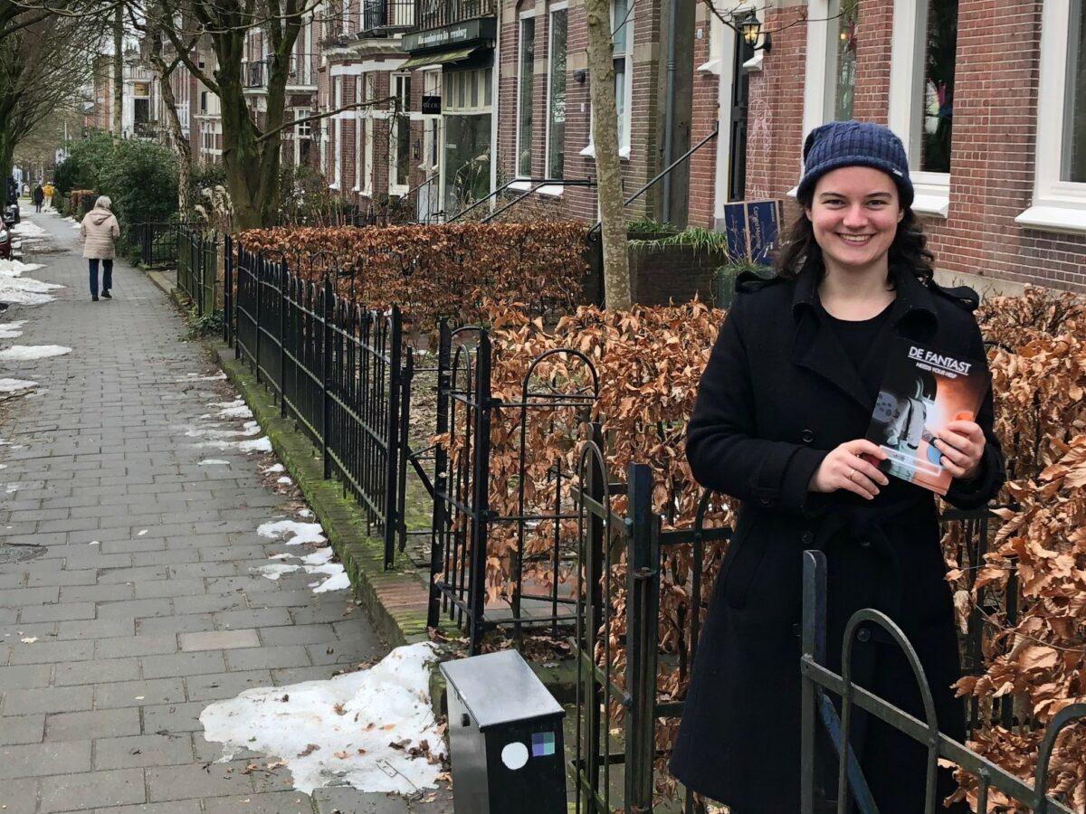 Opname kinderfilm De fantast in onze wijk.